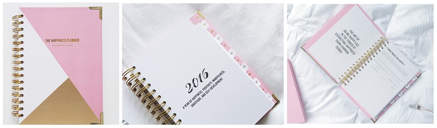 Agendas Planners and Diaries for 2016, The Happiness Planner, where to buy, how to stay positive in 2016, mental health