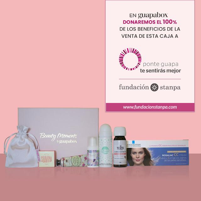 Guapabox mes rosa cancer de mama octubre sumatealrosa belleza fundacion stanpa beautybox beauty