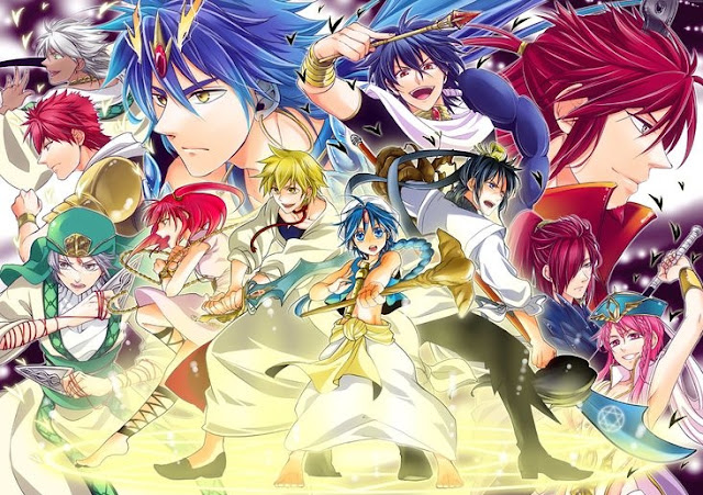 Magi Manga Fantasy Terbaik