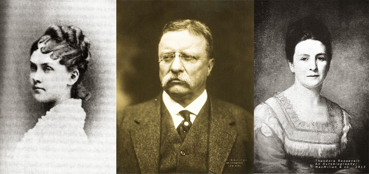 His wife: Alice Hathaway Lee, President Theodore Roosevelt, his mother: Martha Stewart