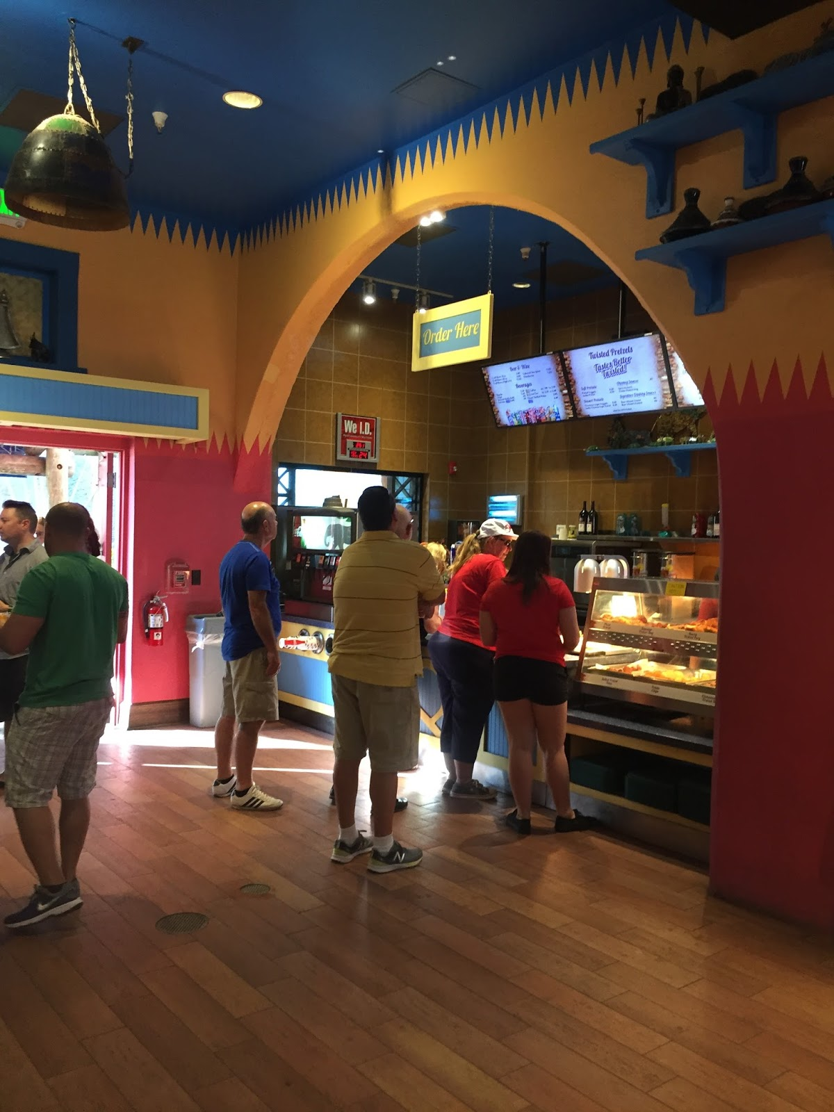 Easy and Organic: Busch Gardens Where to Eat Twisted Tails Pretzels