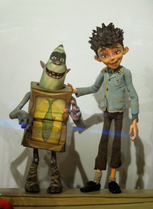 The Boxtrolls stop-motion Eggs character figure