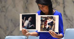 using photos of killed children