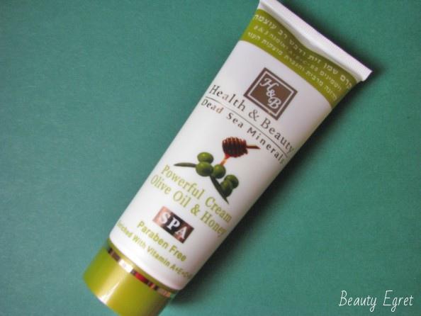 Интенсивный крем для тела Powerful Cream Olive Oil & Honey, Health&Beauty