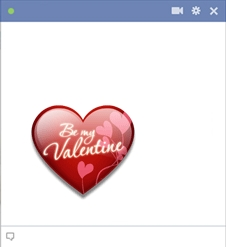 Facebook Valentine Emoticon