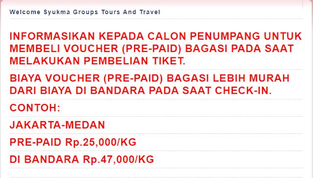 Peraturan Barang Bawaan di Kabin Bagasi Cuma - Cuma Lion Air Group
