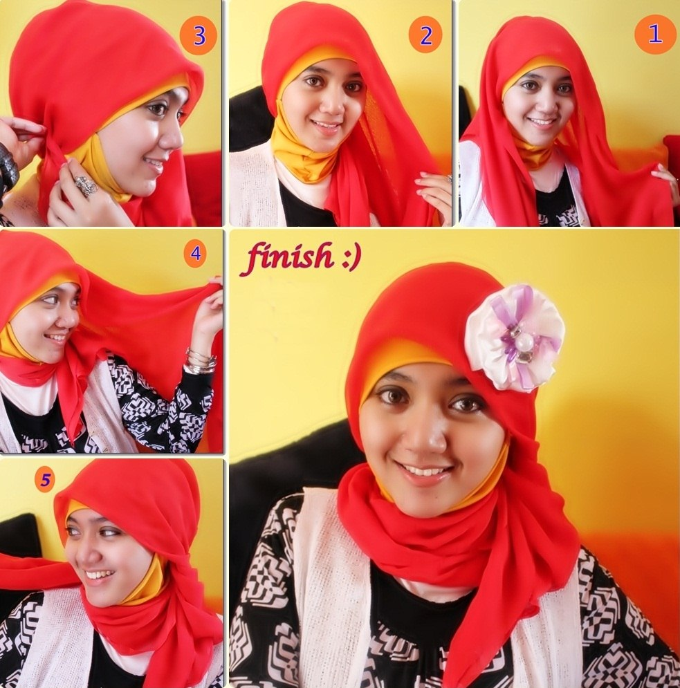 Model Hijab Terbaru Paris Simple Dan Elegan Mode Dan Kecantikan