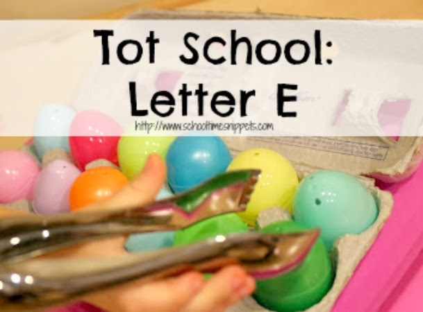 Letter E Toddler Activities