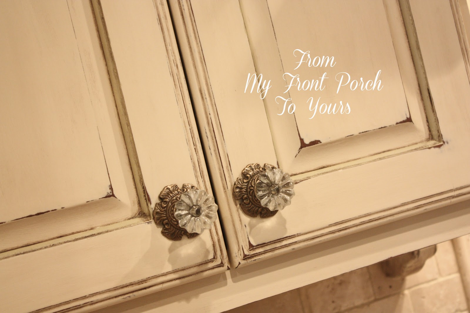 From My Front Porch To Yours: Kitchen Cabinet Painting Tutorial ...