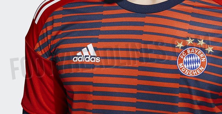 bd58f613d Bayern Munich 2018 Pre-Match Shirt Leaked