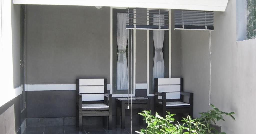 Contoh Desain Atap Teras Pakai Kayu  Rumah Zee