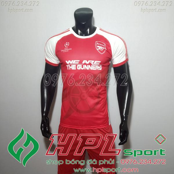 Áo bóng đá câu lạc bộ Arsenal đỏ Training  2019