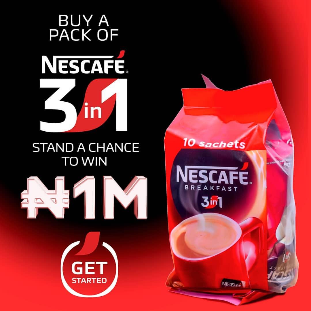 18940eeb98ed Win N1 Million Naira in Nescafe Buy Scratch & Win Promo!!! (Send Pin to  55332)