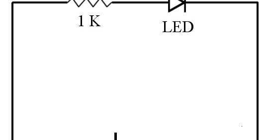 How to Turn On an LED Using Battery? « Funny Electronics