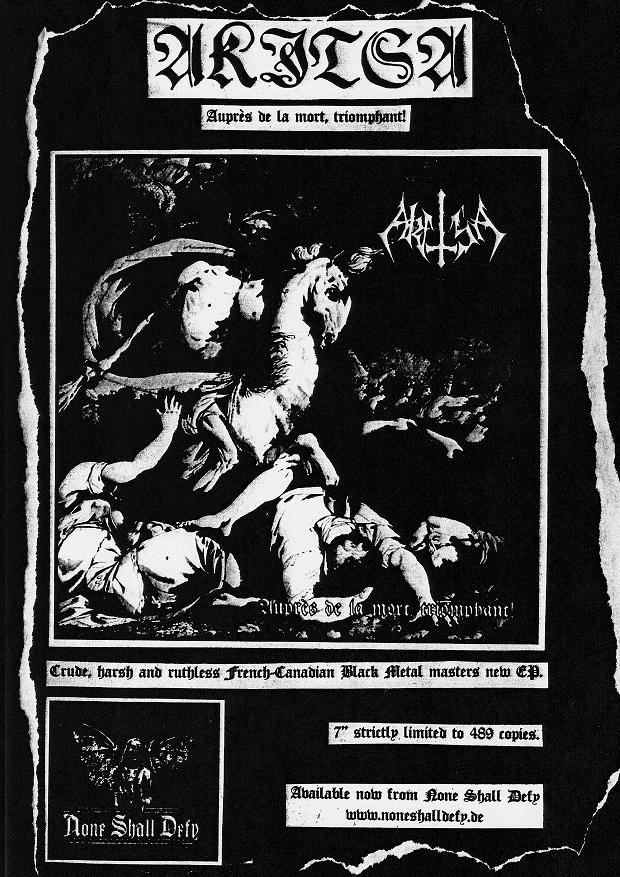 Akitsa Are 'Grands Tyrans': An Interview on Their History, Purity in
