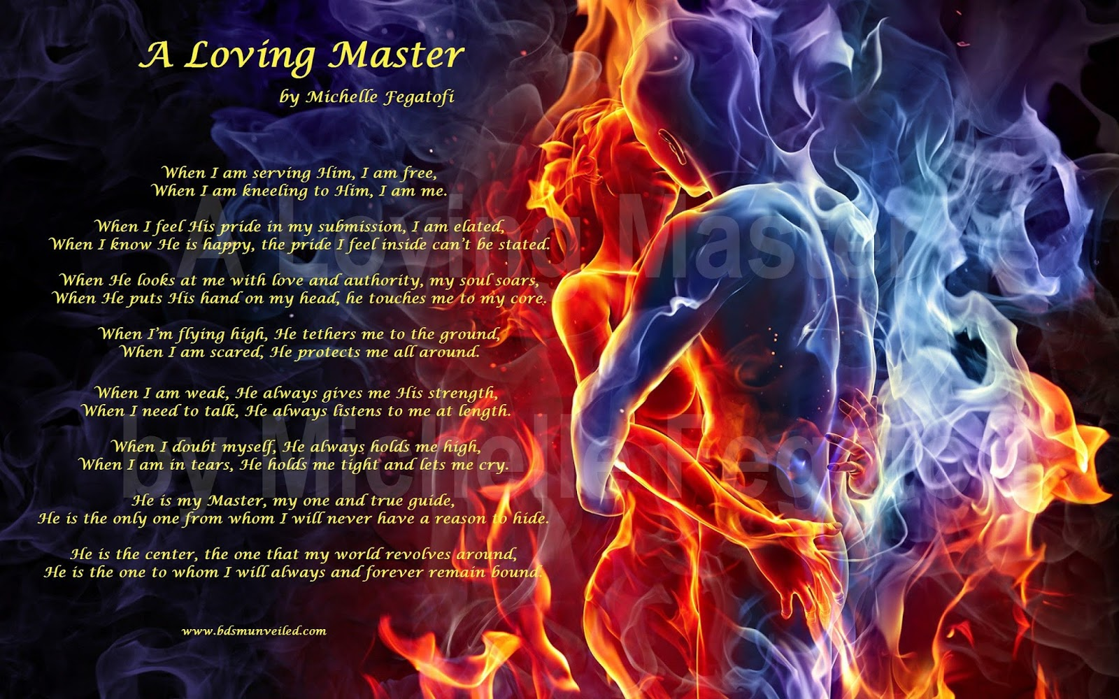 A Loving Master by Michelle Fegatofi