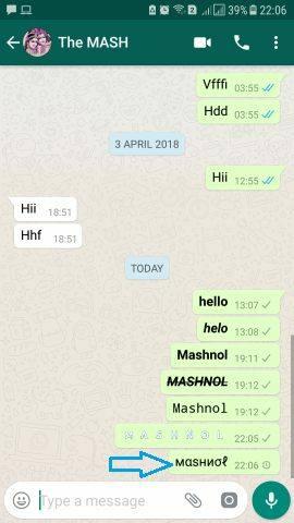 mewarnai status whatsapp biar lebih kec dan kekinian 6