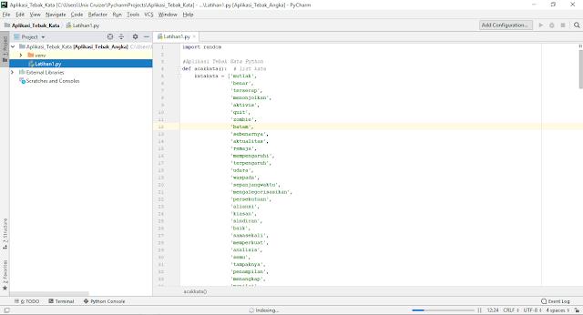 Cara Membuat Aplikasi Tebak Kata Python Lengkap dengan Source Code