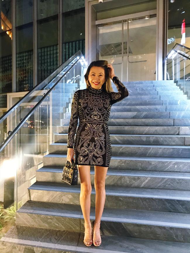 Hit the Floor Akira Beaded Dress, Akira Beaded Dress, Best Little Black Dress, New Year's Eve Beaded Dress, Akira Black Beaded Dress