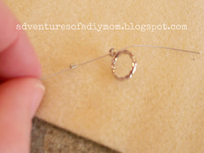adding wire to toggle clasp