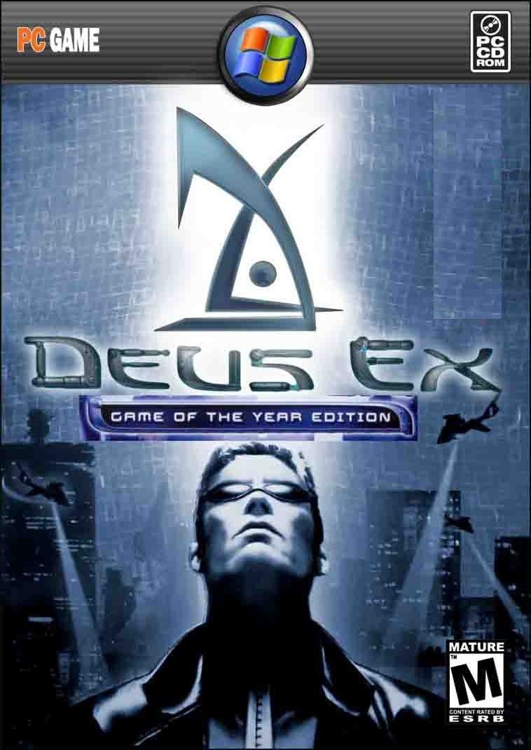 Deus Ex {GOTY Edition} [Incl  Revision MOD] ^*GOG + RAiN*^ (376 Mb