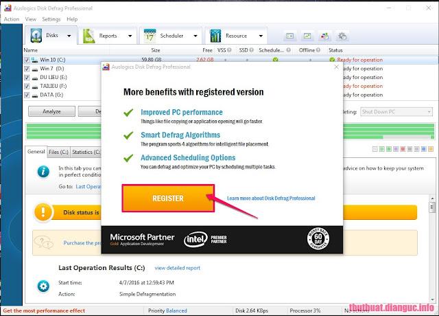 Auslogics Disk Defrag Professional 4.7.0 Keygen Full Download