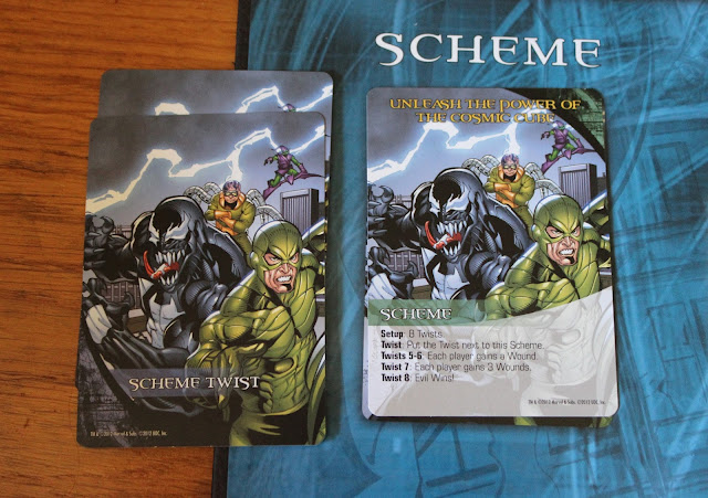 Marvel Legendary scheme cards