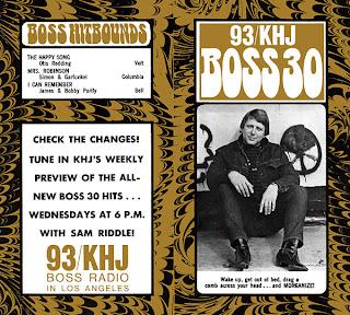 KHJ Boss 30 No. 145  - Robert W. Morgan