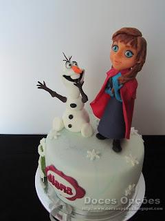 bolo frozen doces opções