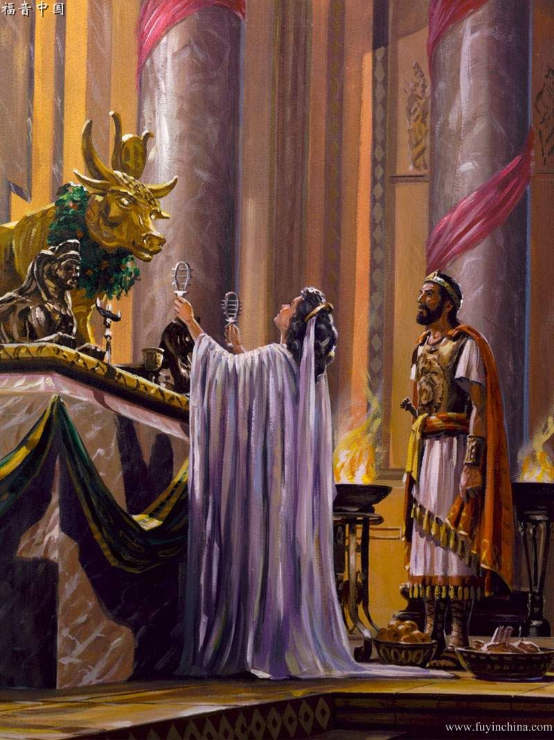 Baal was the most popular Canaanite god.