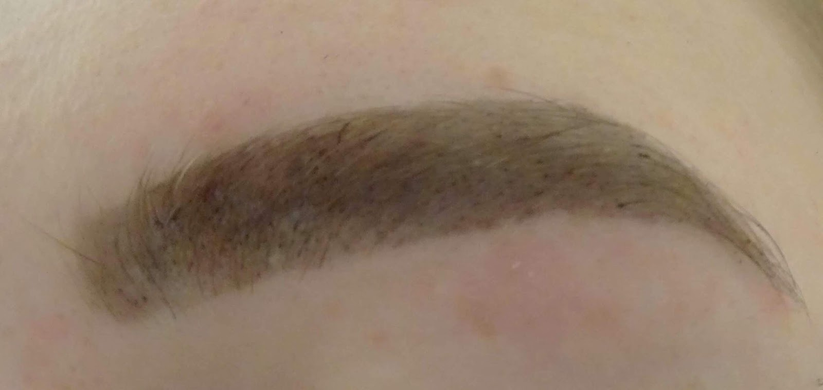 Maybelline Brow Tattoo After Photo