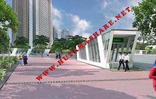 Kumpulan beberapa ANGKOT Angkutan Umum yang Menuju melewati Stasiun MRT istora mandiri