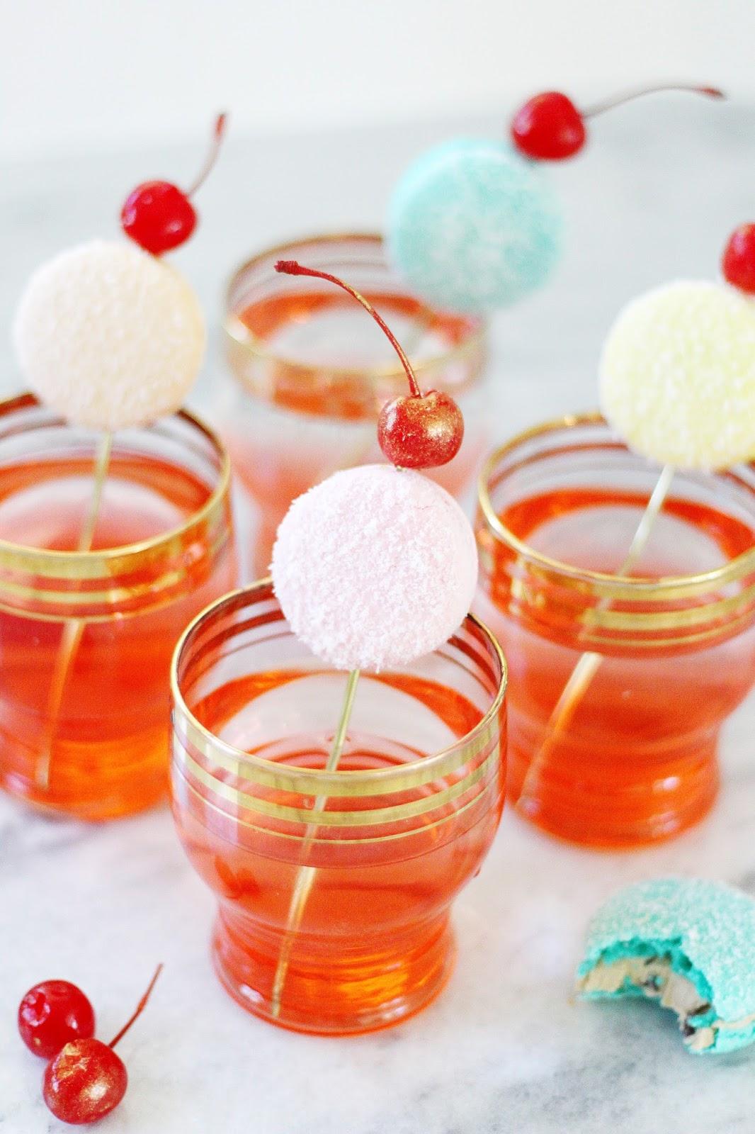 Sugarplum Shirley Cocktail