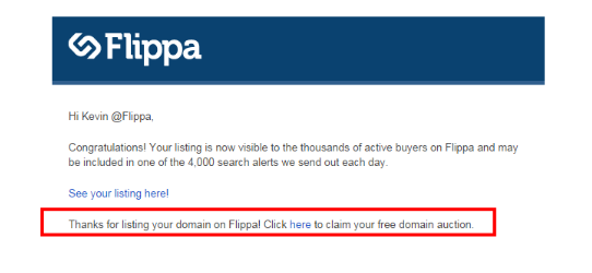 Flippa Credits coupons