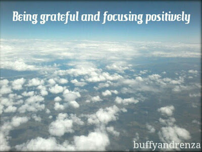 Being Grateful and focusing positively