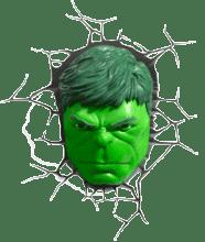 Rosto do Hulk