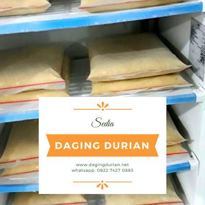Daging Durian Medan Terharum di Madiun