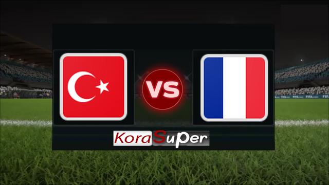 اليوم مشاهدة مباراة فرنسا وتركيا بث مباشر 08-06-2019 السبت