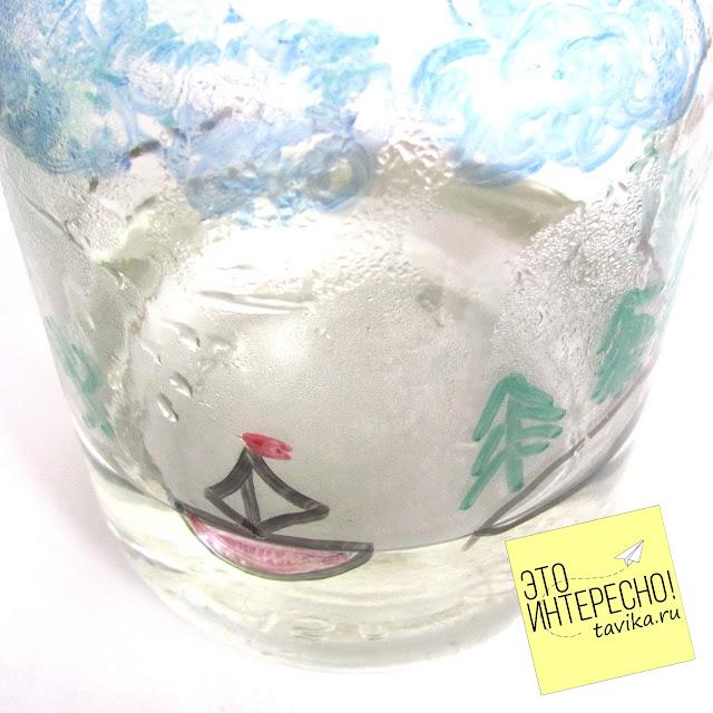 круговорот воды в природе: эксперимент для детей