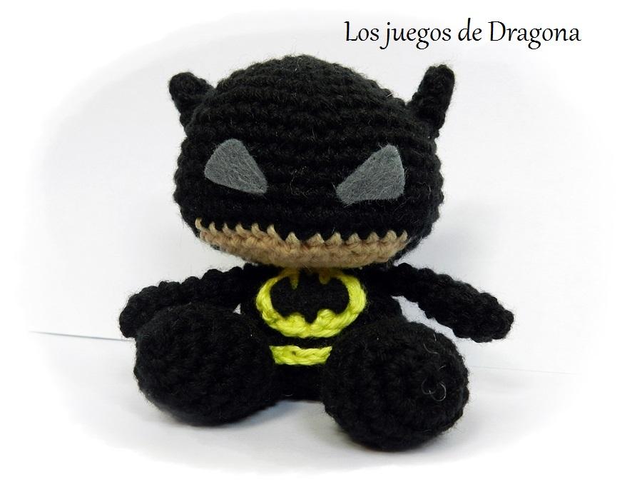Los juegos de Dragona: Batman Amigurumi