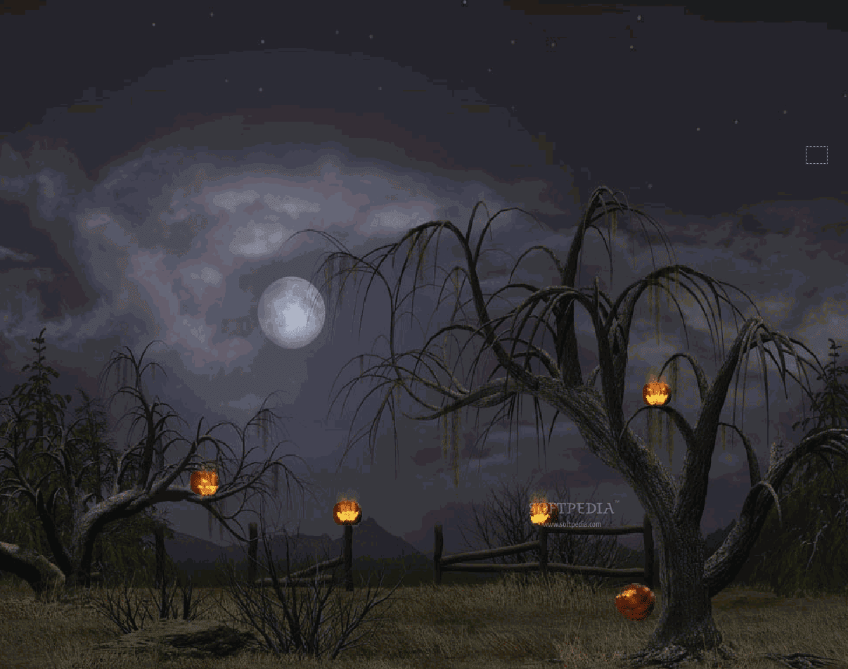 3d animated wallpaper halloween free hd wallpapers - Scary animated backgrounds ...