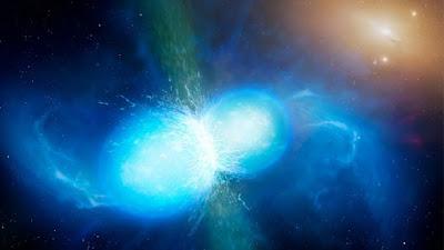 Unione stelle neutroni genera onde gravitazionali