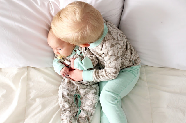 matching pyjamas from Finn + Emma for brother and sister