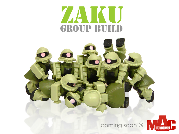 Zaku group build Photo
