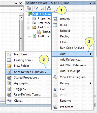 Adding a Default User-Defined Function