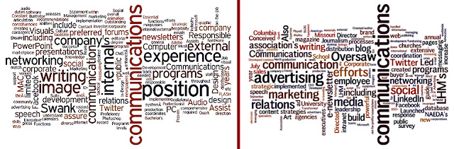 determine keywords in job descriptions, Wordle.net, learning job keywords, learning job key words, finding keywords on Wordle, job keywords, job key words, job description text,