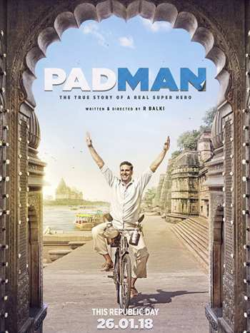 Padman 2018 Hindi Movie 720p HDRip 1.1GB watch Online Download Full Movie 9xmovies word4ufree moviescounter bolly4u 300mb movie
