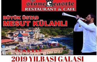stone castle hotel restaurant cafe kusadasi yilbasi programi