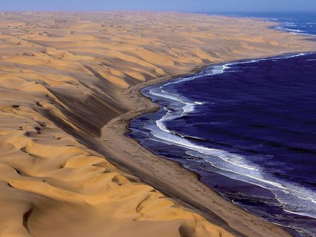 Deserto Namibia sulle Coste Atlantiche