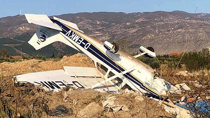Πτώση μονοκινητήριου αεροσκάφους στη Ξάνθη